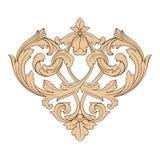 Vector barroco clásico del ornamento Imágenes de archivo libres de regalías