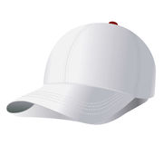 Vector baseball cap Royalty Free Stock Images