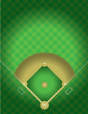 Vector Baseball Field Stock Images