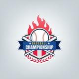 Vector of Baseball sport team logo. Vector of Baseball sport team logo design Stock Image
