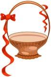 Vector basket Royalty Free Stock Image