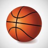 Vector basket ball. Orange basket ball, vector illustration. Sport icon Stock Photos