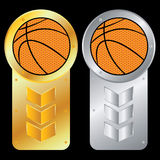 Vector Basketball Royalty Free Stock Photography