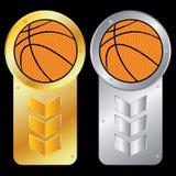 Vector Basketball Royalty Free Stock Photography
