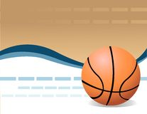 Vector Basketball Stock Photo