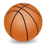 Vector basketball. Orange basketball. Sport - Vector illustration Royalty Free Stock Photography
