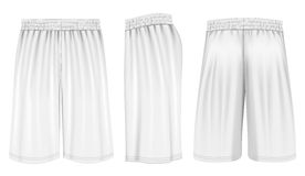 Vector basketball shorts Royalty Free Stock Photo
