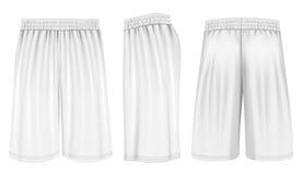 Vector basketball shorts Royalty Free Stock Photo