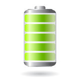 Vector battery icon Royalty Free Stock Photo