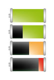 Vector battery life Royalty Free Stock Photos