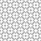Vector Beautiful black and white seamless pattern stock images