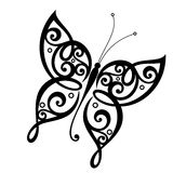Vector Beautiful Butterfly Stock Photography