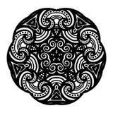 Vector Beautiful Deco Black Star Stock Images
