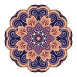 Vector Beautiful Deco Colored Mandala royalty free illustration