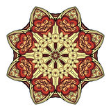 Vector Beautiful Deco Colored Mandala Royalty Free Stock Photography