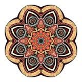 Vector Beautiful Deco Colored Mandala Stock Photo