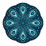 Vector Beautiful Deco Colored Mandala Stock Photo
