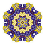 Vector Beautiful Deco Colored Mandala Stock Photos