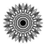Vector Beautiful Deco Mandala Stock Image