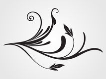 Vector beautiful design black tattoo Stock Photos