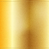 Vector Beautiful Gold Satin. Vector Beautiful Gold Jeans texture. Template brochure design Royalty Free Stock Image