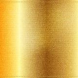 Vector Beautiful Gold Satin. Vector Beautiful Gold Jeans texture. Template brochure design royalty free illustration
