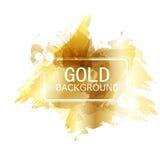 Vector Beautiful Gold Satin. Template brochure design vector illustration