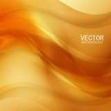 Vector Beautiful Gold Satin. Template brochure design Royalty Free Stock Image
