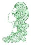 Vector beauty Royalty Free Stock Image