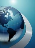 Vector bedrijfsachtergrond Stock Afbeeldingen