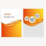 Vector bedrijfsbrochure, vliegermalplaatje Stock Afbeeldingen