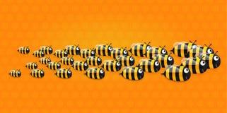 Vector bee Stock Photo