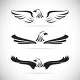 Vector beeld van een adelaar Stock Foto