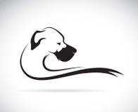 Vector beeld van een hond (great dane) Royalty-vrije Stock Afbeelding