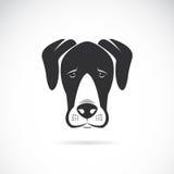 Vector beeld van een hond (great dane) Stock Afbeeldingen