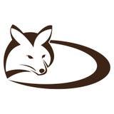 Vector beeld van een vos stock illustratie