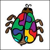 Vector beetle Stock Photo