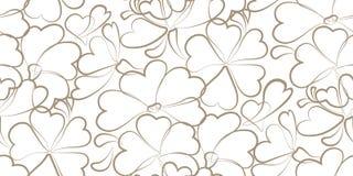 Vector beige bloemenachtergrond. Stock Foto