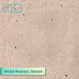 Vector beige rice paper photo texture. Background for your design. Craft crumpled recycled sheet of wrapping paper  Royalty Free Stock Images