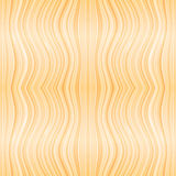 Vector beige wooden or hair waves seamless pattern Royalty Free Stock Image
