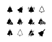 Vector Bell icons set Stock Photo