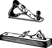 Vector bench plane Royalty Free Stock Image