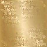 Vector berry texture (golden) Royalty Free Stock Photos
