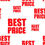 Vector best price label royalty free illustration