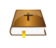 Vector bible with bookmark Stock Images