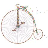 Vector bicycle. Royalty Free Stock Photo
