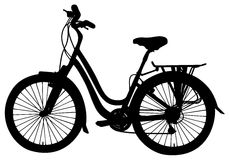 Vector bicycle Royalty Free Stock Photos