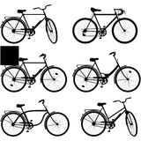 Vector Bicycle Pictogram Set 3 Stock Photography
