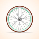 Vector Bicycle vintage wheel Stock Photos