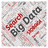 Vector big data large size storage systems Stock Photography